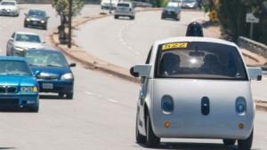 Autonom fahrendes Google-Auto (Symbolbild): Die meisten Taxifahrten werden von einer Person gebucht.
