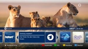 Zusatzfunktion mit HbbTV