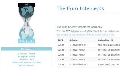 Wikileaks hat Selektoren der NSA veröffentlicht, die Minister in Deutschland anvisieren.