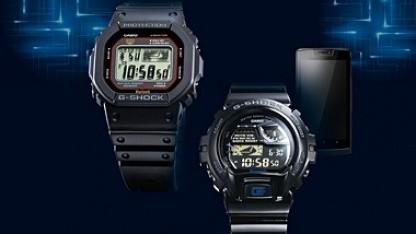 Mit der G-Shock GB-6900AA versuchte sich Casio schon einmal an einer smarten Uhr.