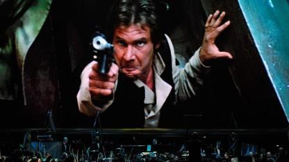 Han Solo wird in den ersten Star-Wars-Filmen von Harrison Ford verkörpert.