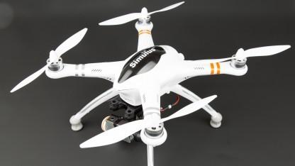 DJI Phantom? Nein: Simulus QR X350 Pro!