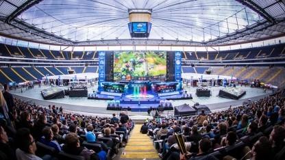 E-Sport-Veranstaltung mit Live-Übertragung