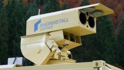 Laserkanone von Rheinmetall: in zwei bis drei Jahren einsatzbereit