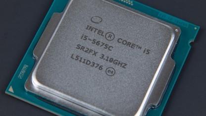 Heatspreader des Core i5-5675C mit Broadwell-Architektur