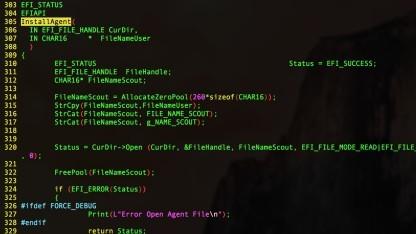 Über ein UEFI-Rootkit kann Hacking Teams Spionagesoftware nachinstalliert werden.