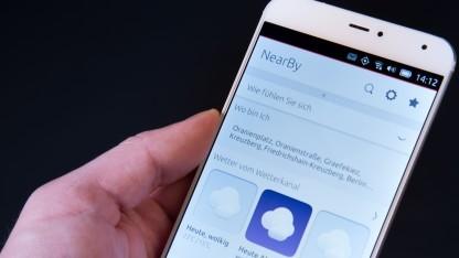 Das Meizu MX4 mit Ubuntu Phone