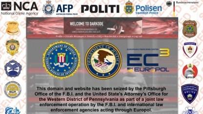 Der illegale Online-Marktplatz Darkode wurde von internationalen Strafverfolgungsbehörden beschlagnahmt.