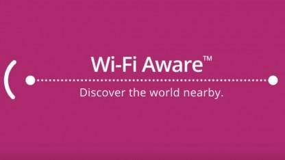 Wifi Aware erlaubt annäherungsbasierte Anwendungen ohne reguläre WLAN-Verbindung.