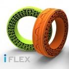 Iflex: Hankook entwickelt Autoreifen ohne Luftfüllung