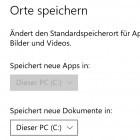 Windows 10: Keine Apps auf SD-Karte speicherbar