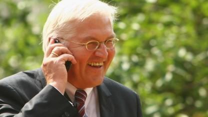 Außenminister Steinmeier stand mit zwei Handynummern auf der NSA-Spähliste.