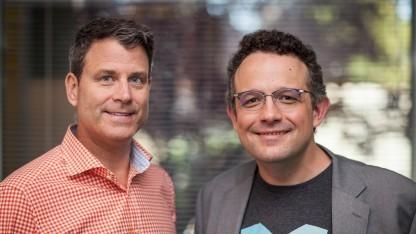 Chris O'Neill (links) und Phil Libin