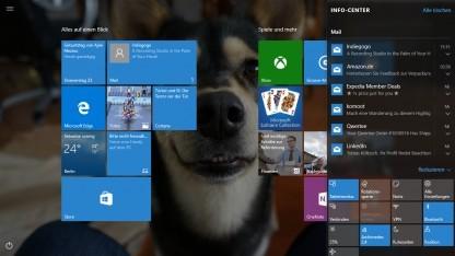 Der Tablet-Modus von Windows 10