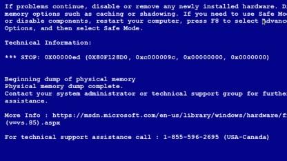 Cyberkriminelle verwenden gefälschte Windows-Fehlermeldungen, um Nutzer abzuzocken.