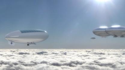 Luftschiff als Raumschiff: leichter als Luft in 50 Kilometern Höhe