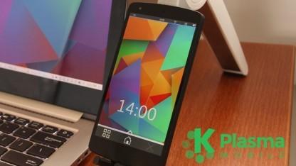 Plasma Mobile nutzt Kwin-Wayland zur Darstellung der Oberfläche.