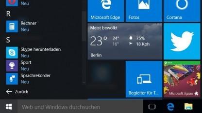 Microsoft verteilt Installationsdateien für Windows 10 unaufgefordert.