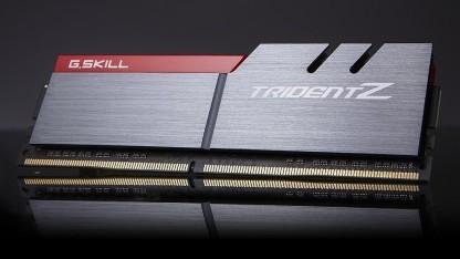 Die neuen Trident-Z-Module laufen mit 2 GHz.