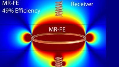 Drahtlose Stromübertragung: Effizienzsteigerung um das 50-Fache