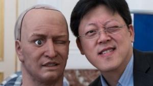 Jong Lee, humanoider Roboter Han: auf dem Weg heraus aus dem Uncanny Valley