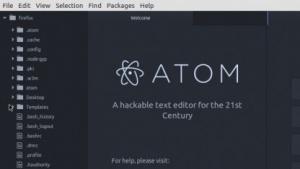 Githubs Atom bildet auch die Grundlage für Visual Studio Code.