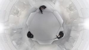 Szene aus dem White Room: 02B3, der als 360-Grad-Version für Smartphones veröffentlicht wird