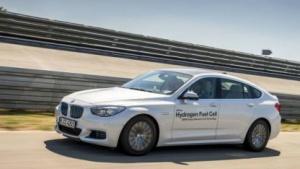 BMW 5er Gran Turismo mit Wasserstoff-Brennstoffzellenantrieb