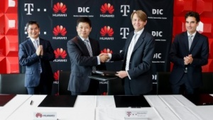 Huawei- und Telekom-Manager