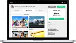 EyeEm verkauft Lizenzen seiner Bilder auch per Desktop.