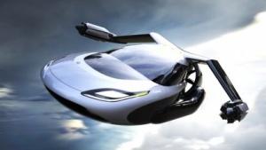 Flugauto Terrafugia TF-X: elektrisch starten und landen
