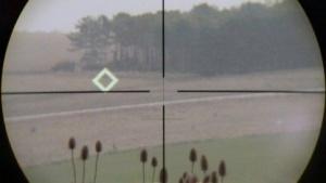 Zielsystem (Symbolbild): Maschinen sollen im Nebel des Krieges besser unterscheiden als Menschen.