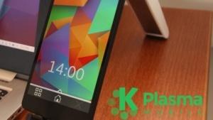 An dem Aussehen von Plasma Mobile kann sich noch einiges ändern.
