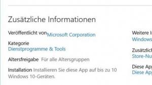 Windows-10-App darf nur noch auf maximal zehn Geräten installiert werden.