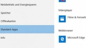 Neue Option in den Windows-10-Einstellungen zum Ändern des Standard-Browsers