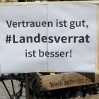 "Demo wegen #Landesverrat: ""Come and get us all, motherfuckers"""
