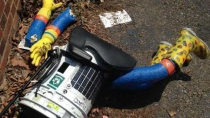 Die Reise des trampenden Roboters Hitchbot fand in den USA ein jähes Ende.