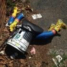 Trampender Roboter: Hitchbot bei seiner Reise durch die USA zerstört