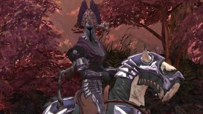 Sieht aus wie in einem Cartoon: King's Quest - Der seinen Ritter stand.