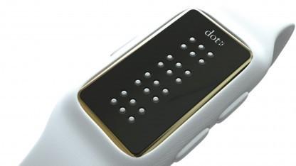 Bild zu «Dot: Smartwatch mit Braille-Anzeige für Blinde»