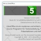 Freies Büropaket: Libreoffice springt auf Version 5.0
