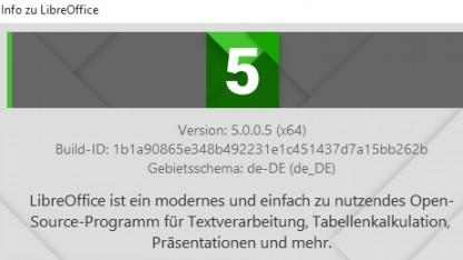 Libreoffice 5.0 ist erschienen.