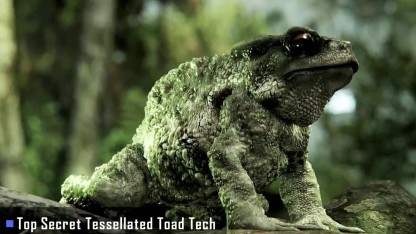 Vielleicht findet die Top Secret Tessellated Toad Tech einen Weg in den VR-Benchmark