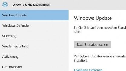 Microsoft hält sich mit Informationen zu Windows-10-Updates zurück.