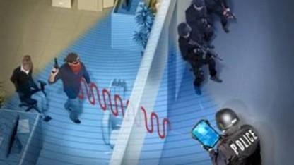 Ortung durch die Wand: Referenz- und Überwachungskanal