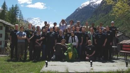 Die Teilnehmer des Randa Sprints 2010