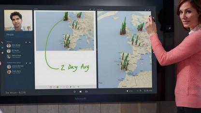 Surface Hub erscheint im Januar 2016.