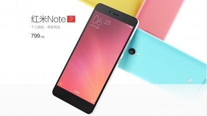 Das neue Redmi Note 2 von Xiaomi