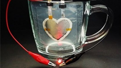 Akku in Herzform: Akkukomponenten auf beliebige Objekte mit komplexer Geometrie drucken