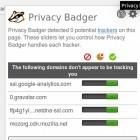 Tracking: Privacy Badger blockiert unliebsame Werbenetzwerke